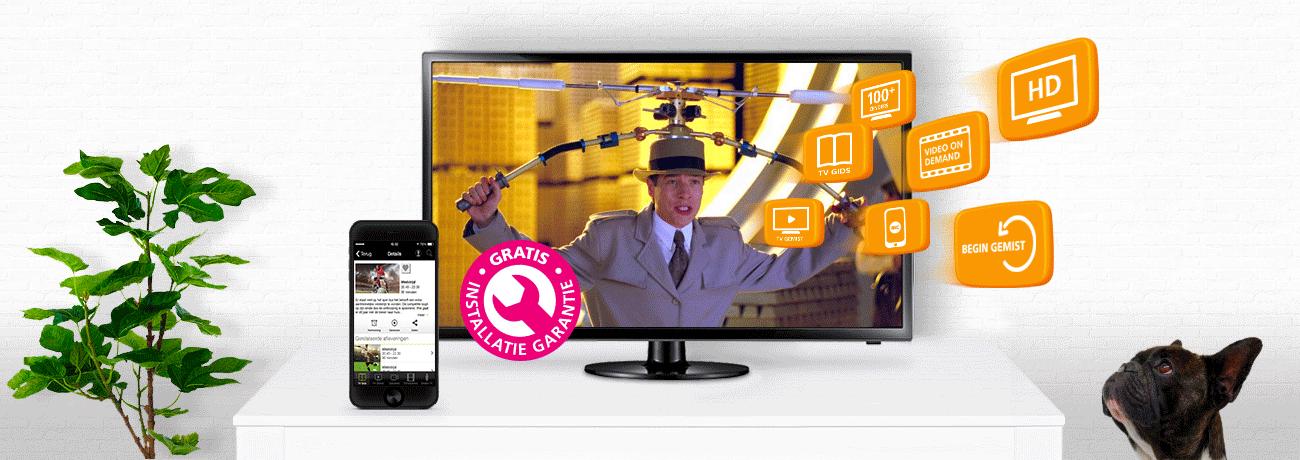 Internet en TV, met Interactieve TV. | Online.nl