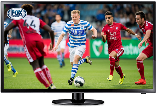<strong>FOX Sports Eredivisie</strong> in het Basis pakket