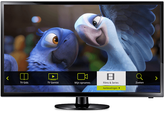 <strong>Interactieve TV:</strong><br /> interactief op alle devices